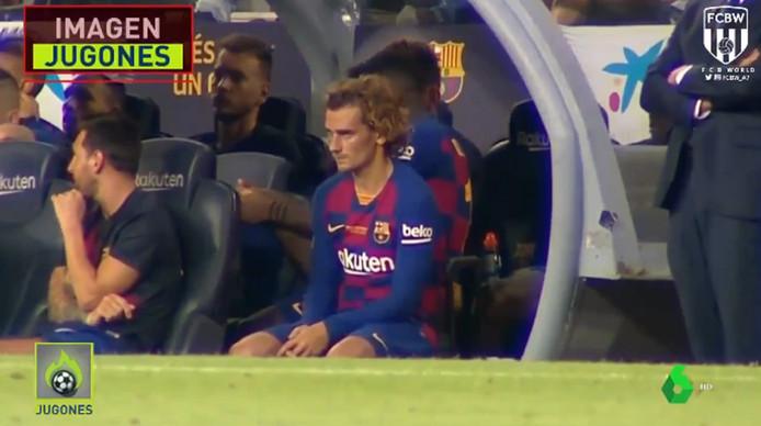 Un malaise entre Messi et Griezmann?