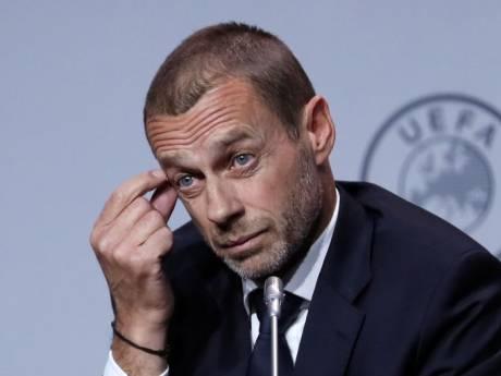 """Le président de l'UEFA: """"Les Belges se rendent compte qu'ils ont mal agi"""""""