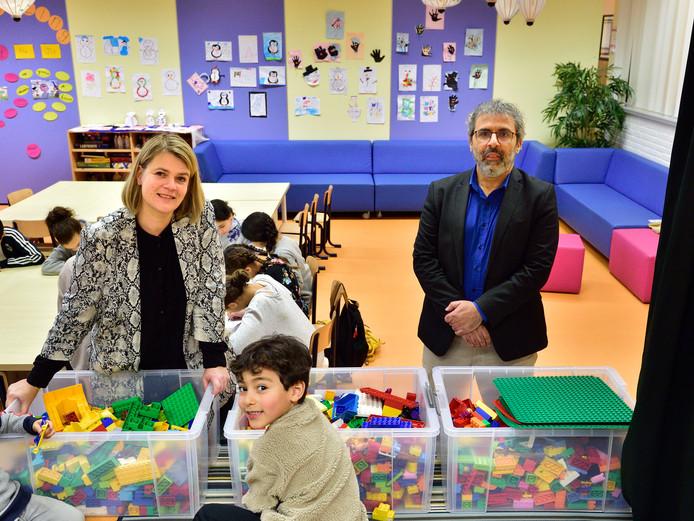 Inger Huls en Said Boukayouh Islamitische basisschool Al Qalam