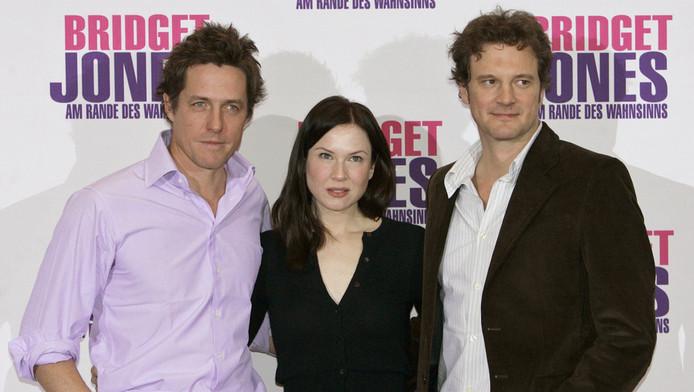 Hugh Grant, Renee Zellweger en Colin Firth. ©AFP