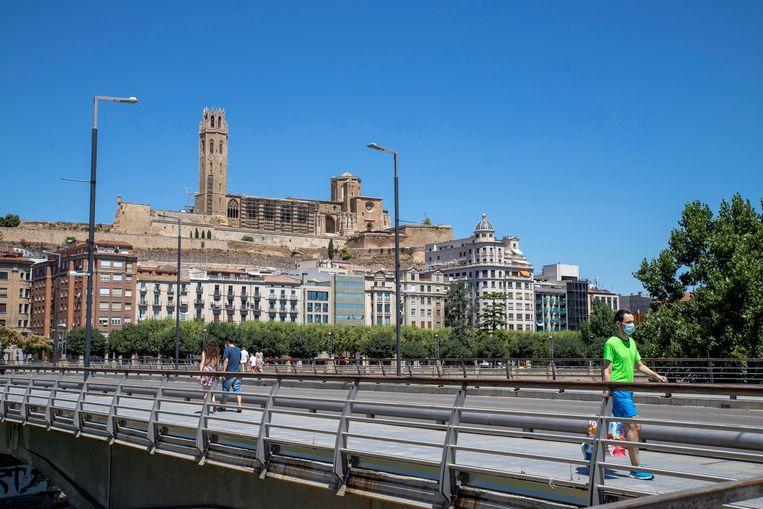 Stad Lleida, in Segrià.
