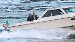 IN BEELD. Na bezoek aan Bono: Obama's op vakantie bij Amal en George Clooney