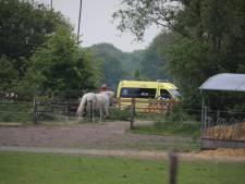 Gewonde na paardrijden bij stalling in Kaatsheuvel