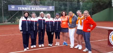 Tennissters uit Etten-Leur spelen tegen tennistoppers van weleer op EK in Spanje