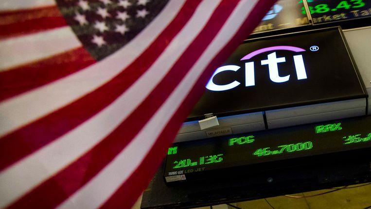 Citigroup op de beurs in New York Beeld REUTERS