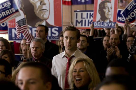 Ryan Gosling in 'The Ides of March'.