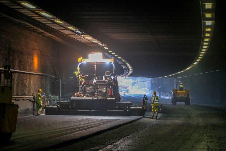 Hallepoorttunnel.