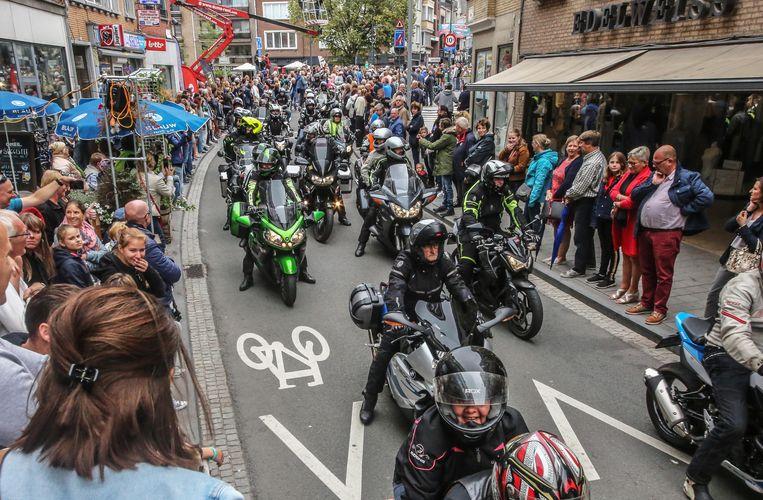 Het motortreffen lokte op 26 augustus 1.592 ingeschreven motards.