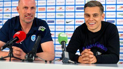 """Hese Trossard staat na wilde feestnacht pers te woord, net als Clement: """"Heb in de Versuz extra talenten ontdekt bij spelers"""""""