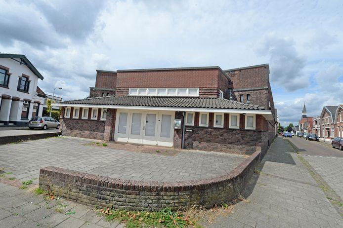 Exterieur voormalige bibliotheek, op hoek Vondel- en Jacob Catsstraat.