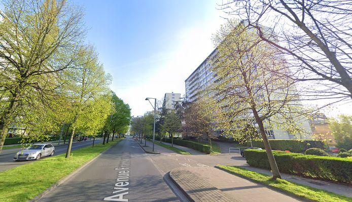 L'avenue Frans van Kalken à Anderlecht.