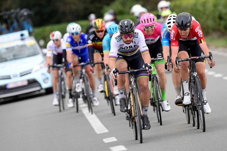 Peter Sagan in de Ronde.