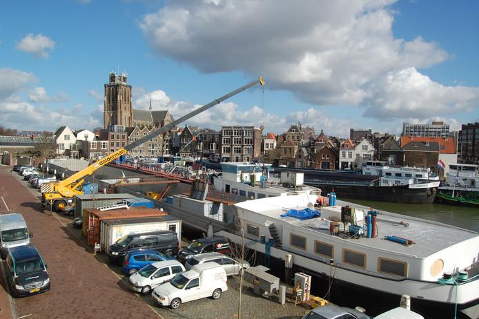 Het aantal ligplaatsen in de haven is te klein voor Dolderman.