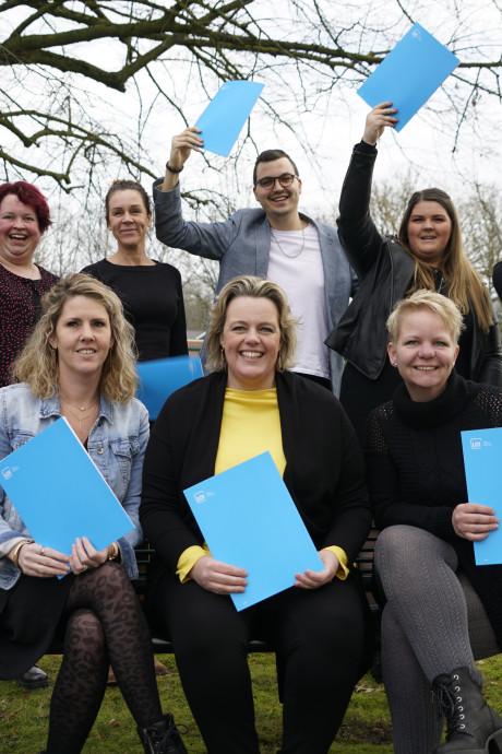 Lunet Zorg Eindhoven en zij-instromers blij met elkaar