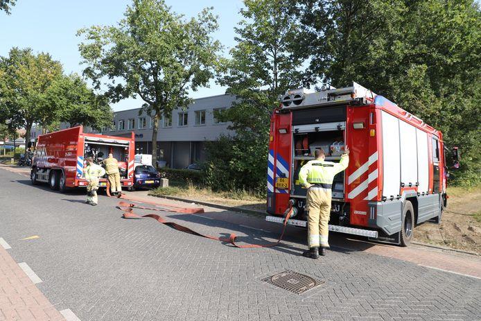 Buitenbrand in Schijndel.
