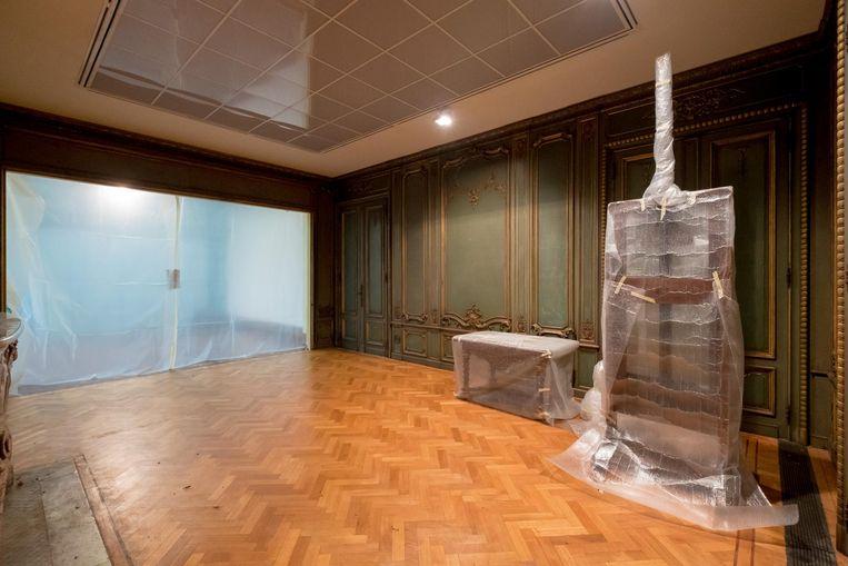 In het Stadsmuseum, nu nog het Wuyts-Van Campen en Baron Caroly museum, vinden momenteel herstellingswerken plaats.