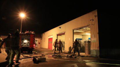 Brand aan bakoven bij industriële bakkerij Thyssen