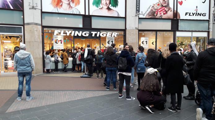 Flying Tiger Stunt Vier Dagen Lang Alles Voor Maximaal Twee Euro