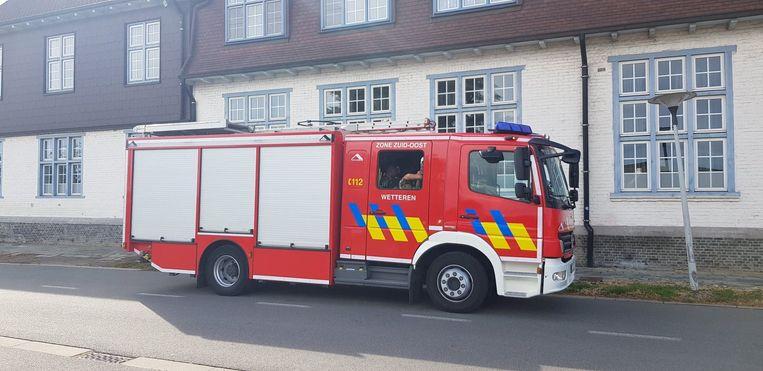 De brandweer van Wetteren voerde een inspectie uit op Mariagaard.
