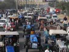 Woedende boeren in India: protest tegen nieuwe landbouwwet