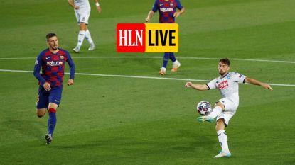KIJK LIVE. FC Barcelona ziet Messi weer wervelen, Mertens trapt tegen paal en dwingt een penalty af
