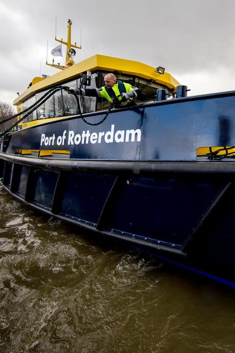 Nooit meer geronk op patrouilleboot Rotterdamse haven