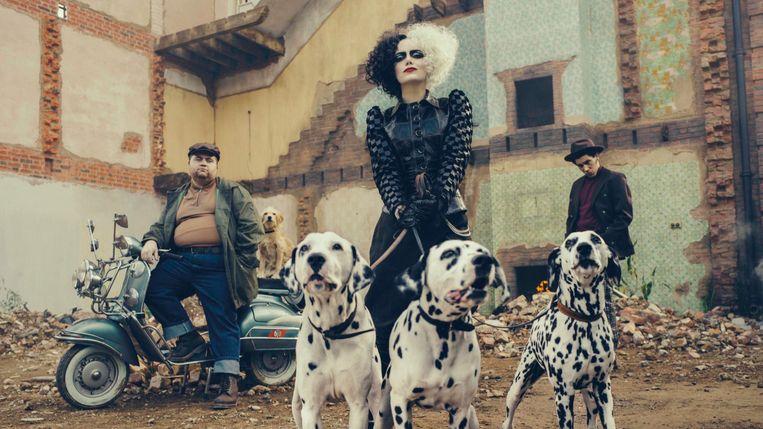 Emma Stone als 'Cruella' Beeld Disney