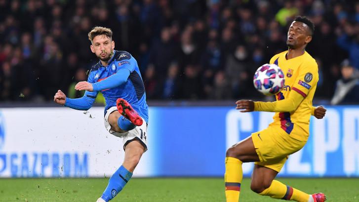 Samenvatting   Barça sleept gelijkspel uit het vuur tegen Napoli, wereldgoal Mertens