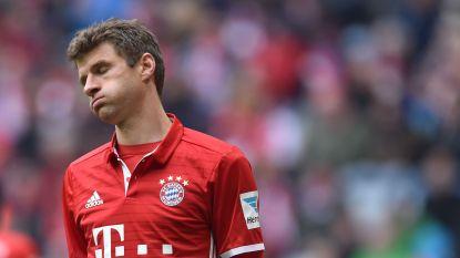 Bayern lijdt verrassend puntenverlies in eigen huis en kan CL-kater niet doorspoelen