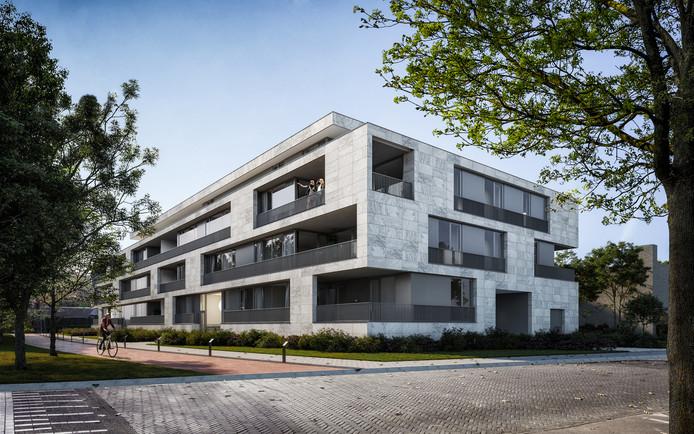 Nieuwbouwplan Mozartlaan 7 in Breda