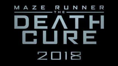Dit is de officiële poster voor 'Maze Runner: The Death Cure'