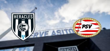 LIVE | Gakpo en Ihattaren in basis bij PSV, Heracles met Mauro