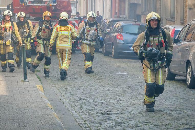 Donderdag moest de brandweer nog een woning in Molenbeek blussen.
