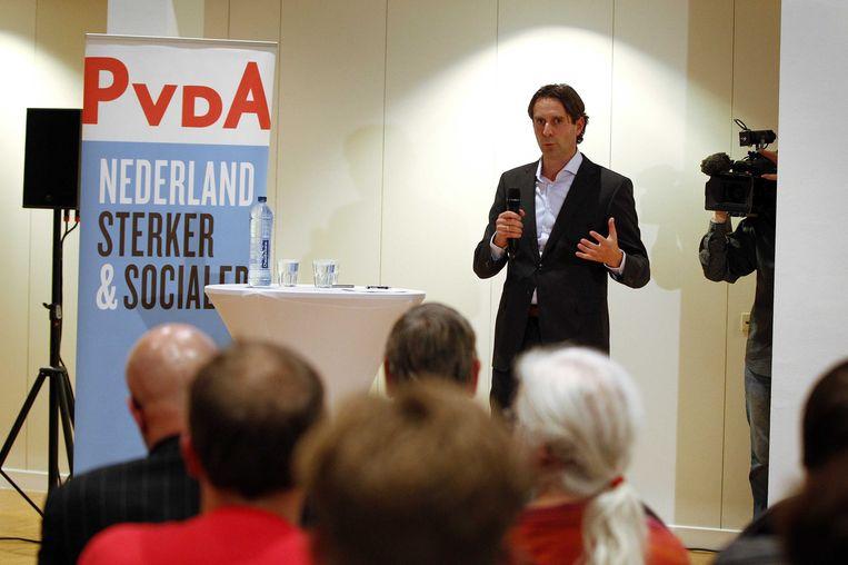 PvdA-Kamerlid Michiel Servaes. Beeld null