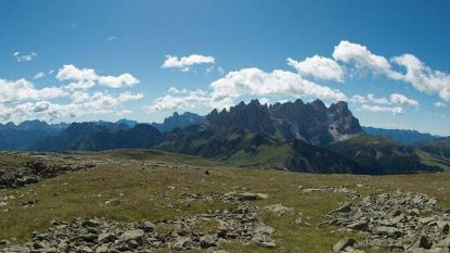Renners Lefevere in juli op hoogtestage op Passo San Pellegrino