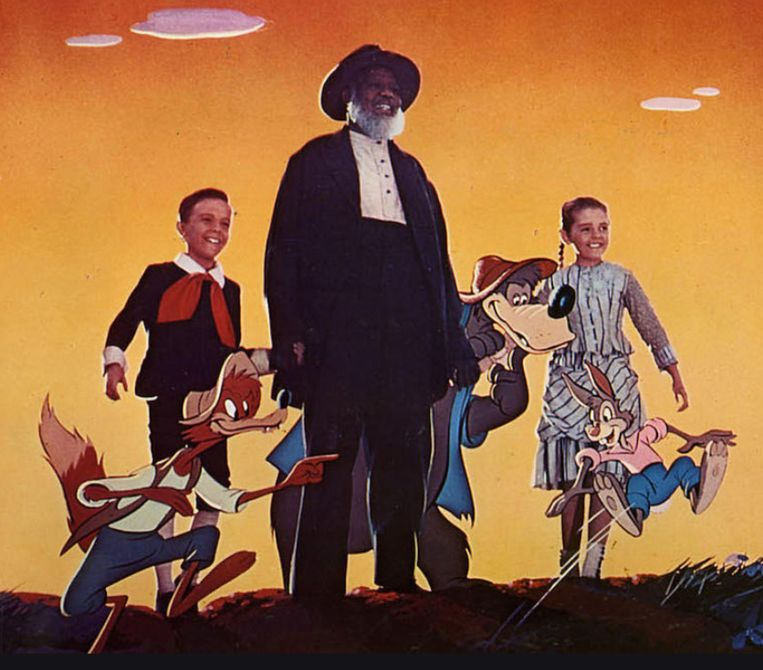 Een beeld uit 'Song Of The South'.