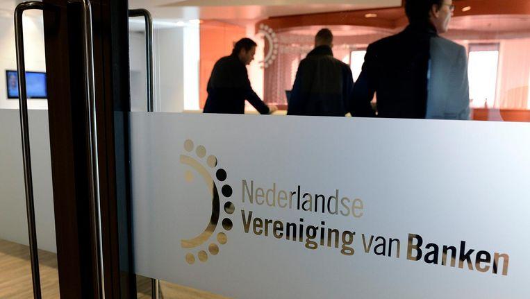 Entree van de NVB in Amsterdam. Beeld anp