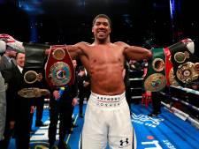 Joshua verdedigt in Amerika drie wereldtitels tegen Miller