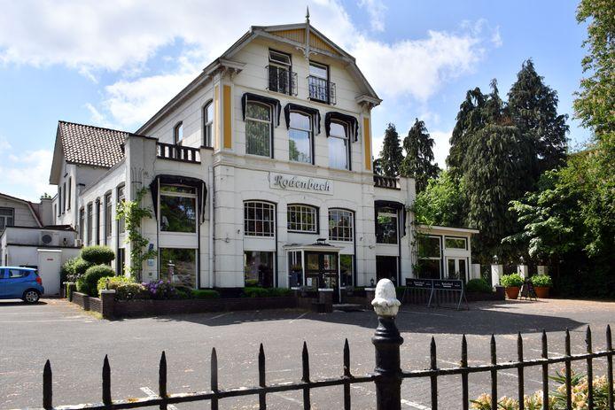 Hotel Rodenbach aan de Parkweg 37.
