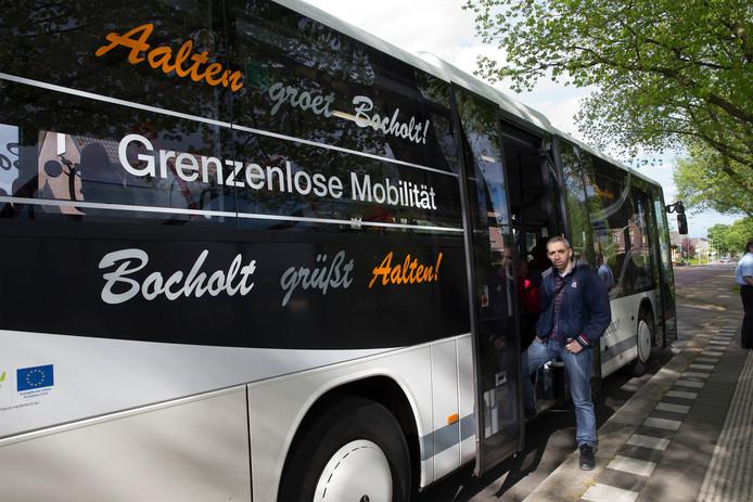 Khalid el Bazi uit Bocholt was vorig jaar een van de dagelijks reizigers op de buslijn C11 tussen Aalten en Bocholt.