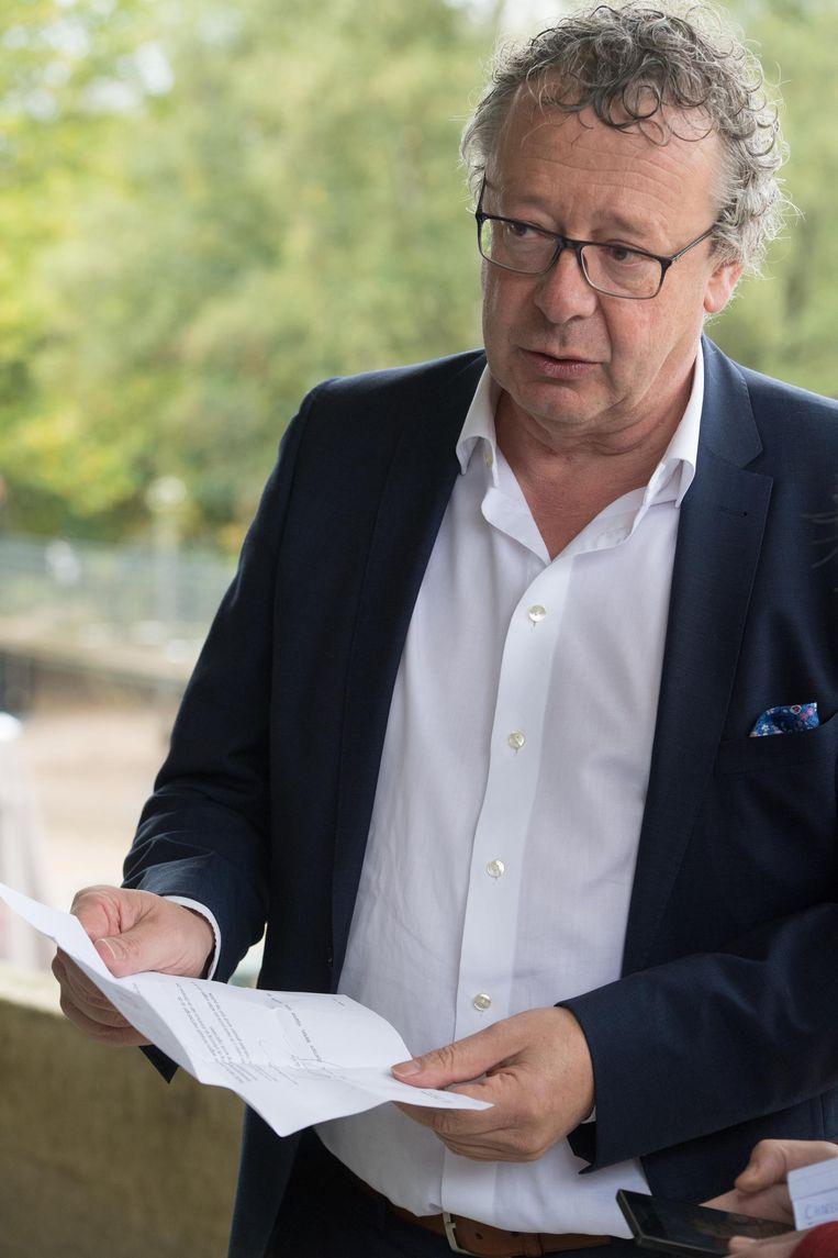 Burgemeester Johan Leysen.