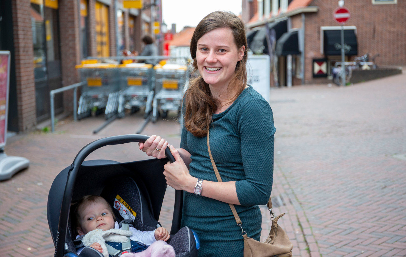 Wilke Wijnsma met dochter Lisa.