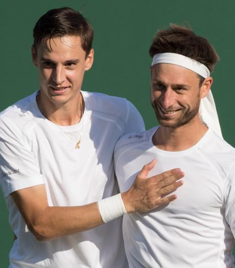 Premier titre sur le circuit ATP pour la paire Vliegen-Gille