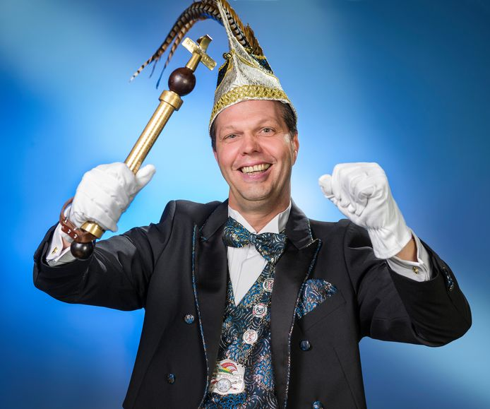 Rob d'n Urste (Rob Beerens), prins van het Pierewaaiersrijk