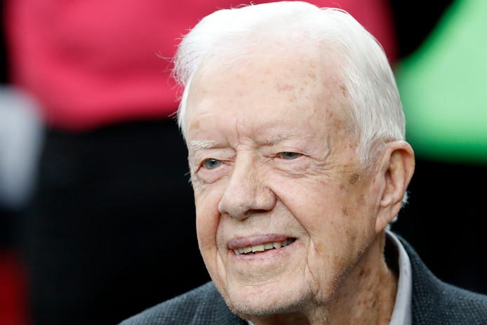 Voormalig Amerikaans president Jimmy Carter.