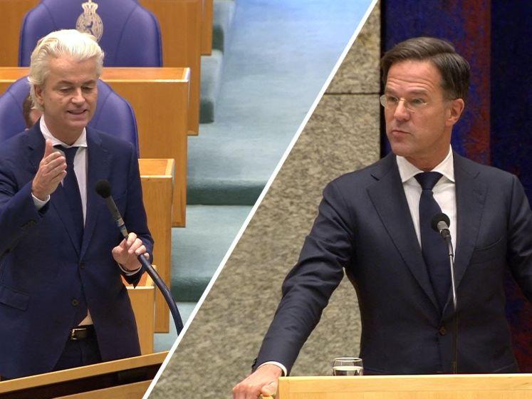 Wilders en Rutte botsen om avondklok: 'Doe het nou niet'