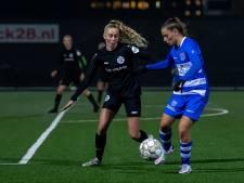 Bevlieging van Hilhorst levert PEC Zwolle Vrouwen slechts een punt op