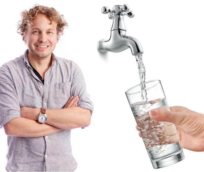 Elke zaak die leidingwater wil serveren, kan dat allang, constateert columnist Niels Herijgens.