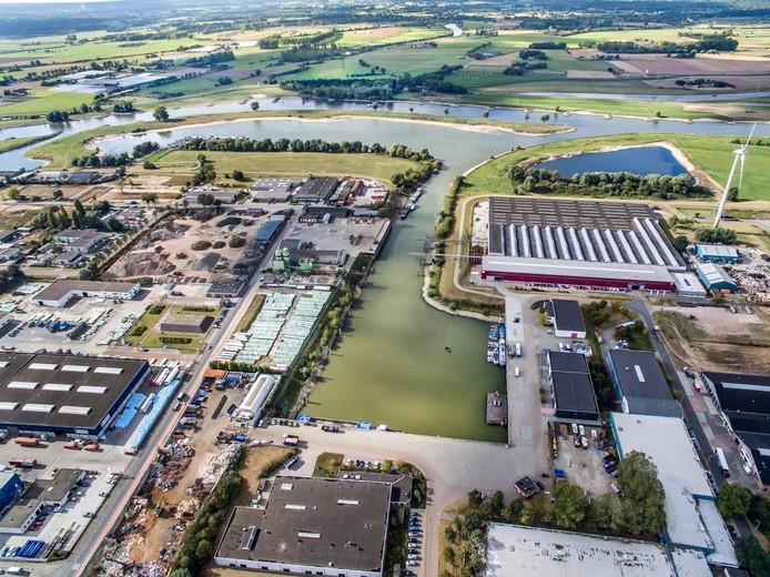 De industriehaven in Zutphen zou weer volop benut kunnen worden, is de hoop.