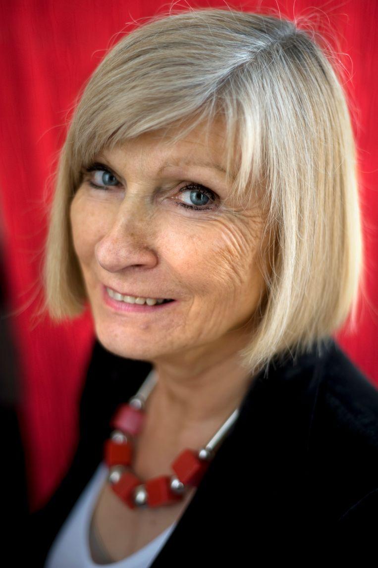 Chantal Mouffe. Beeld